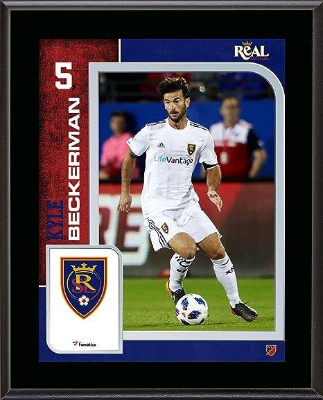 promo code 8ea70 d72c3 Kyle Beckerman Real Salt Lake 10.5'' x 13'' Sublimated ...