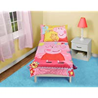Peppa Pig Adoreable Set de cama para niño, color rosado