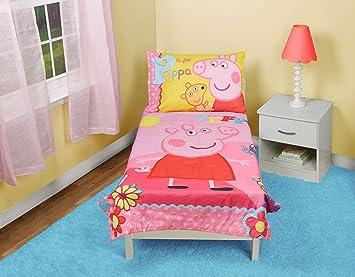 Peppa Pig Adoreable Toddler Bed Set Pink