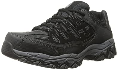 Amazon.com  Skechers for Work Men s Cankton-U Industrial Shoe 546329833ac5