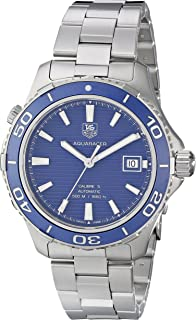 6f53a2c7ffd TAG Heuer Men s WAK2111.BA0830 Aquaracer 500 Analog Display Swiss Automatic  Silver Watch