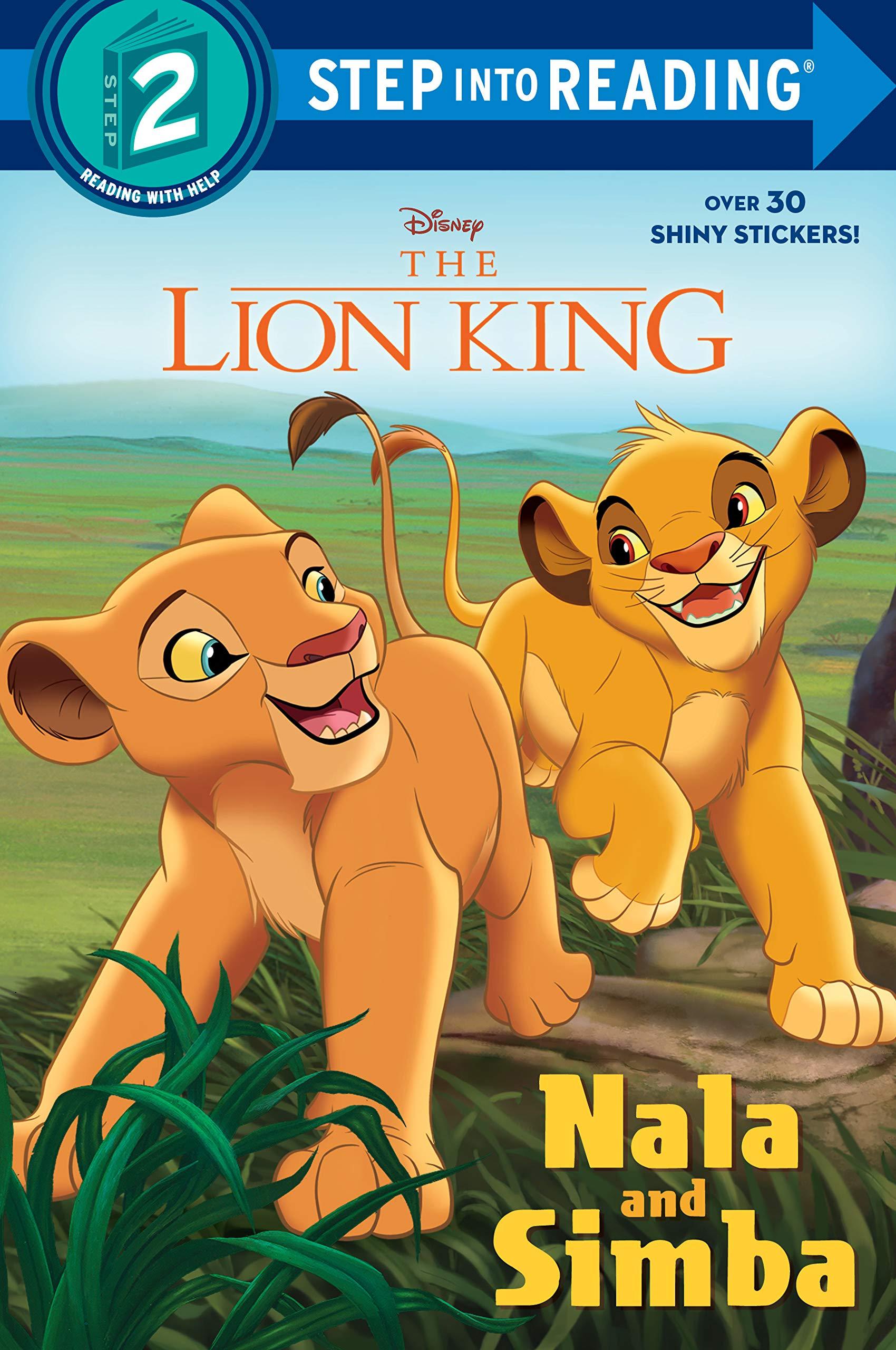 Nala and Simba (Disney the Lion King) (Disney The Lion King: Step Into Reading Step 2)