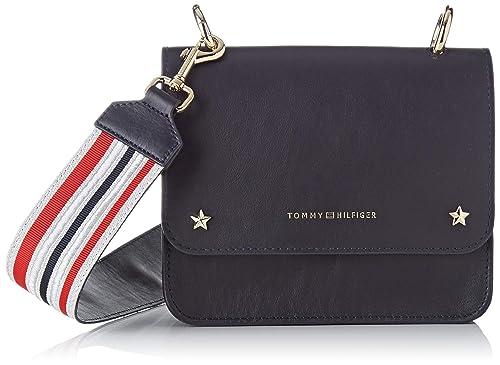 a basso prezzo 689cc 677f9 Tommy Hilfiger Leather Mini Crossover - Borse a tracolla ...