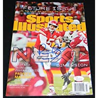 $343 » Patrick Mahomes Signed Kansas City Chiefs Sports Illustrated Si Magazine - JSA Certified - Autographed NFL Magazines