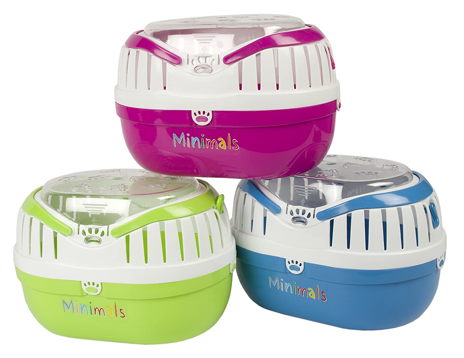 Pet Brands Minimals Small Animal Carrier - Assorted Colours MC1