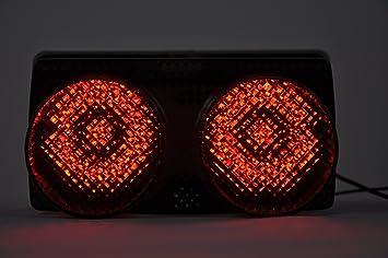 Yamaha YZF-R1 98-99 Clear Taillight Lens Brake Light