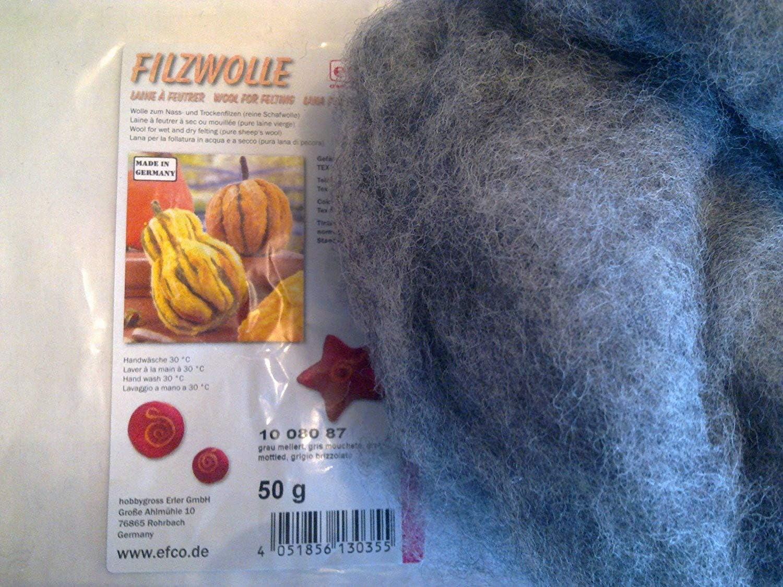 Filzwolle/Märchenwolle - Lana para Manualidades (100% Lana ...