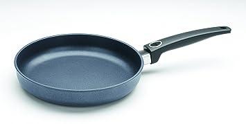 Woll Saphir Lite Induction - Sartén (hierro forjado, para cocinas de inducción, manjo