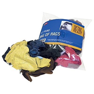 Carrand 40071 Bag of Cleaning Rags, 1/2 Pound Bag: Automotive