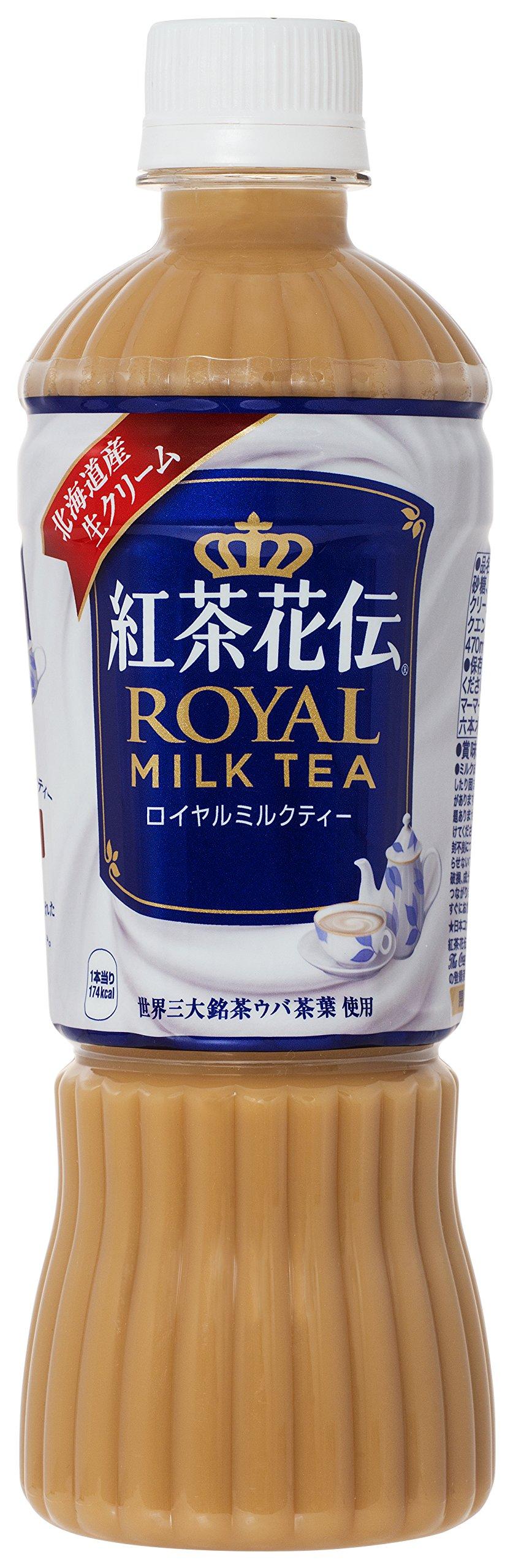 PETX24 this Coca-Cola tea Hanaden Royal milk tea 470ml