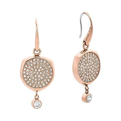 Michael Kors Women's Rose Gold Earrings MKJ5873791 uSbto9vcGQ