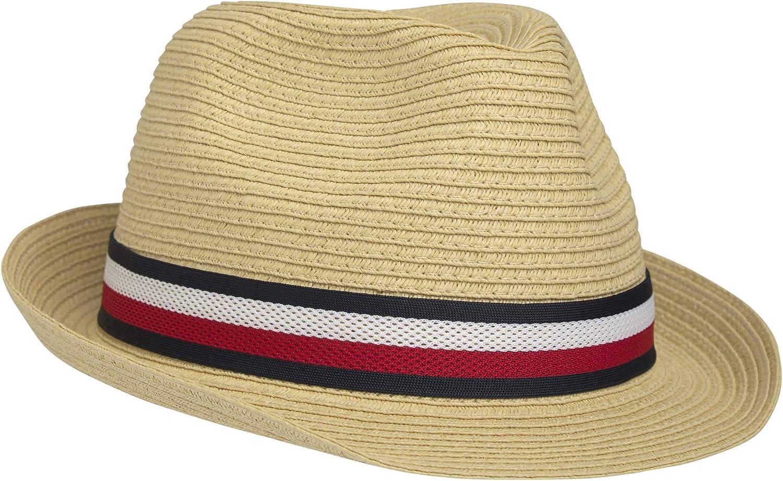 Tommy Hilfiger Straw Hat One Size Denim