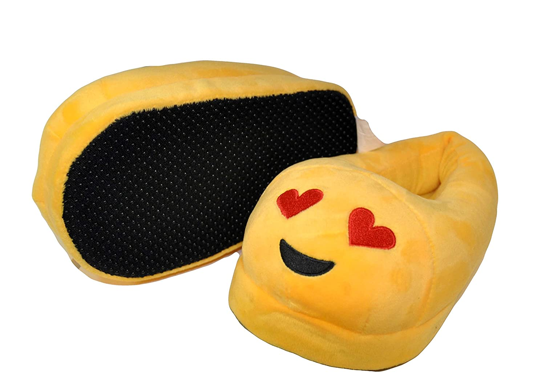 Kids Size Emoji Slippers