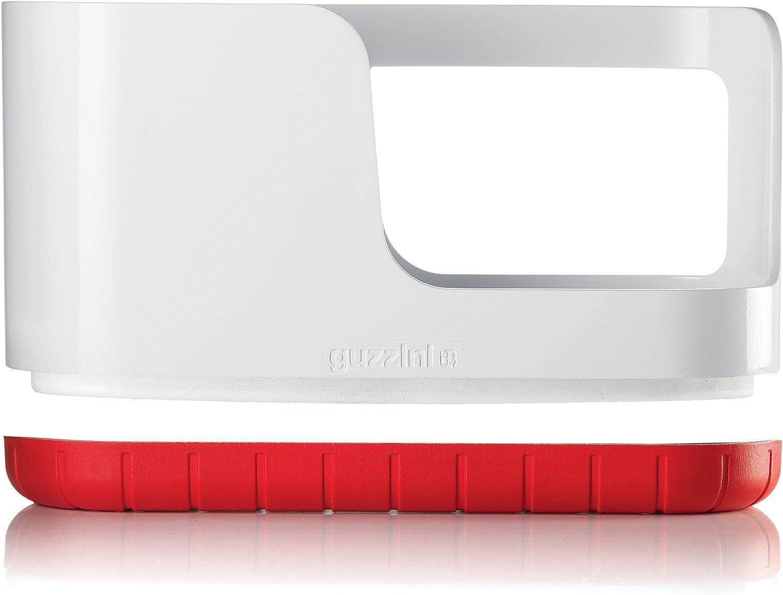 Amazon Com Guzzini My Kitchen Sink Tidy Caddy 5 1 3 Inches Red Home Kitchen