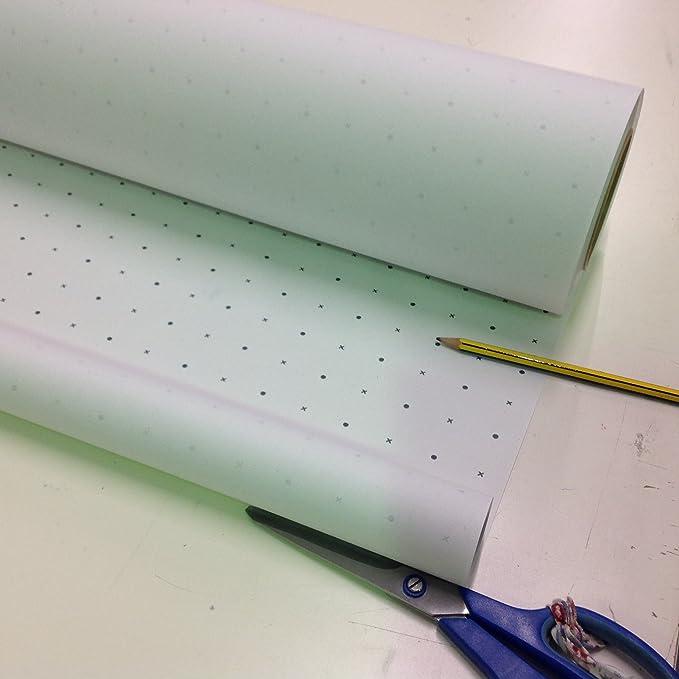 Dot Spot und Kreuz Schnittmuster Papier, 10 m Rolle, 45gms: Amazon ...