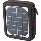 Voltaic Systems Amp Portable Solar Charger with Battery Pack (4,000mAh) - Silver