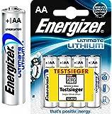 40 Energizer Ultimate L91 Lithium Mignon Batterien (AA, 3000mAh, 1,5V)