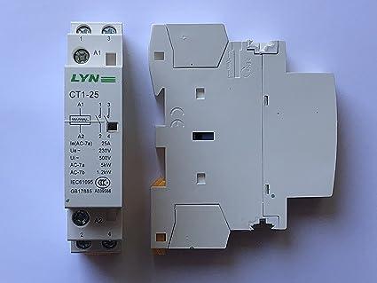 Schema Elettrico Contattore E Salvamotore : Contattore di potenza tensione della bobina v v