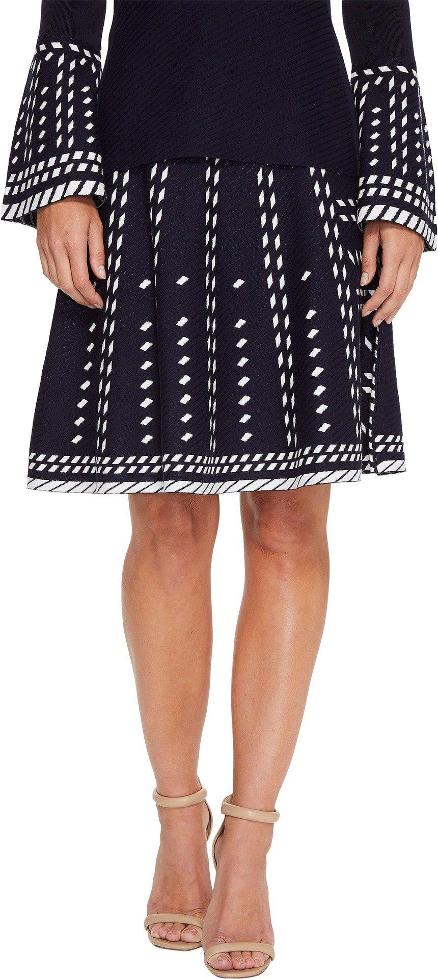 NIC+ZOE Women's Falling Star Skirt Multi X-Large