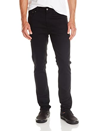 d7f9d290328 Nudie Jeans Men's Lean Dean Jean in Dry Cold Black at Amazon Men's Clothing  store: