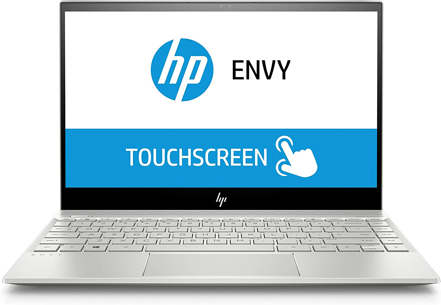 "HP Envy Touch 13 Ultrabook: Core i7-8565U Processor (up to 4.6GHz), 16GB RAM, 512GB SSD, 13.3"" UHD 4K Touch Display, NVIDIA GeForce MX150"