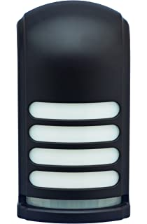 Battery Operated Motion Activated LED Deck And Stair Light, Bronze