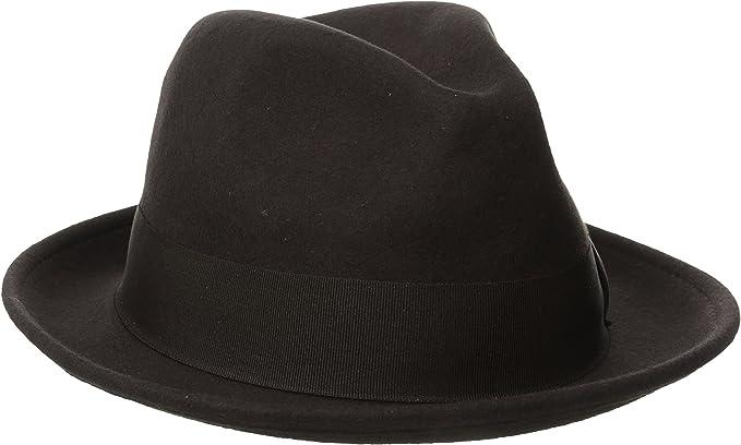Stacy Adams Men/'s Fedora Wool Felt Hat