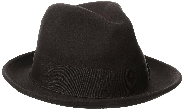 0c6237c1372 Stacy Adams Men's Wool Felt Pinch Front Fedora Hat at Amazon Men's Clothing  store: