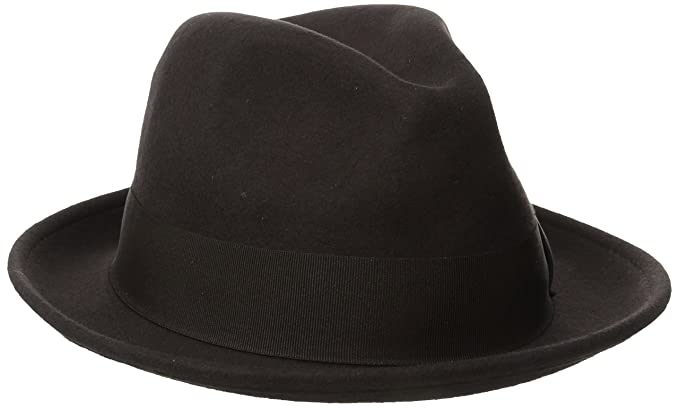4c5d6cb46a6 Stacy Adams Men s Wool Felt Pinch Front Fedora Hat  Amazon.co.uk  Clothing