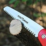 FLORA GUARD Folding Hand Saw, Camping/Pruning Saw