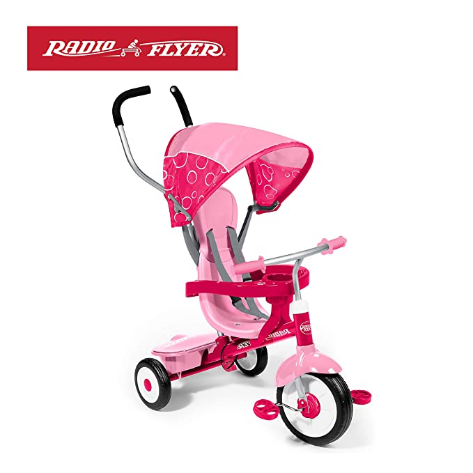 Best Tricycle for Toddlers: 4-in-1 Stroll 'N Trike by Radio Flyer