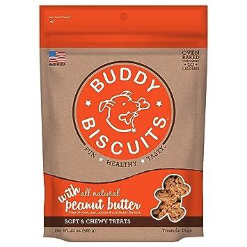 Amazon.com: Buddy - Galletas para perro, suave y masticable ...