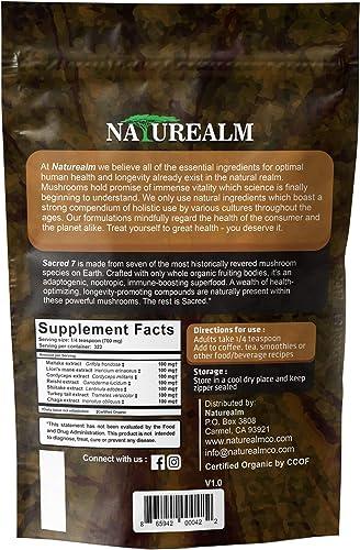SACRED 7 Mushroom Extract Powder