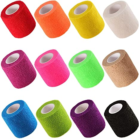 Amazon Com Cherish Tea 12 Pieces Self Adhesive Elastic Bandage
