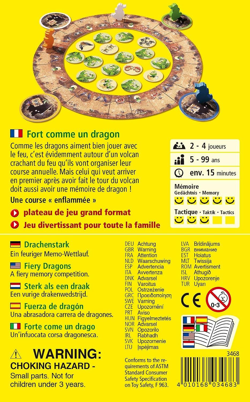 HABA - Juego «Fort Comme un Dragon» (Fuerte como un dragón) - 003468: Amazon.es: Juguetes y juegos