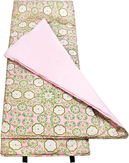 Designed to Fit on a Standard Cot Patterns Coordinate with Our Lunch Boxes and Backpacks Perfect Size for Daycare and Preschool Wildkin Nap Mat with Pillow for Toddler Boys and Girls