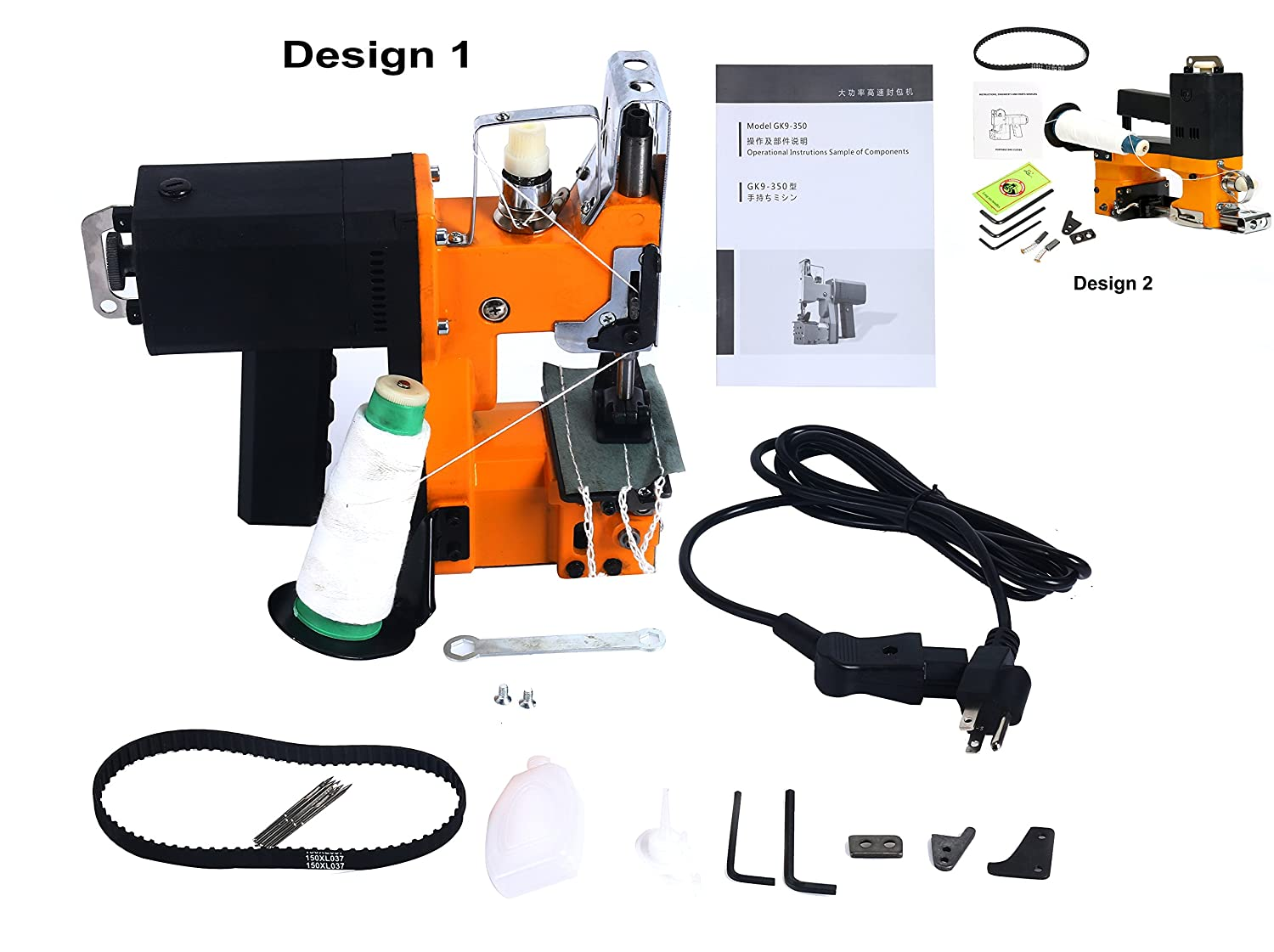 Yaetek 110V Industrial Portable Electric Bag Stitching Closer Seal Sewing Machine Yaemart Corportation 4336993469
