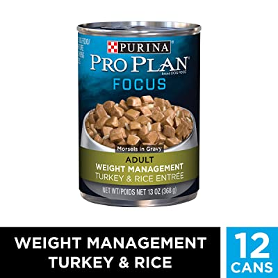 Purina Pro Plan Weight Management Adult Dry Dog Food & Wet Dog Food
