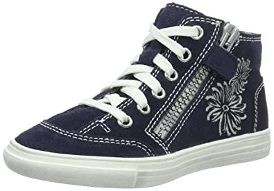 Richter Kinderschuhe Mädchen Fedora High-Top, Blau (Atlantic), 28 EU