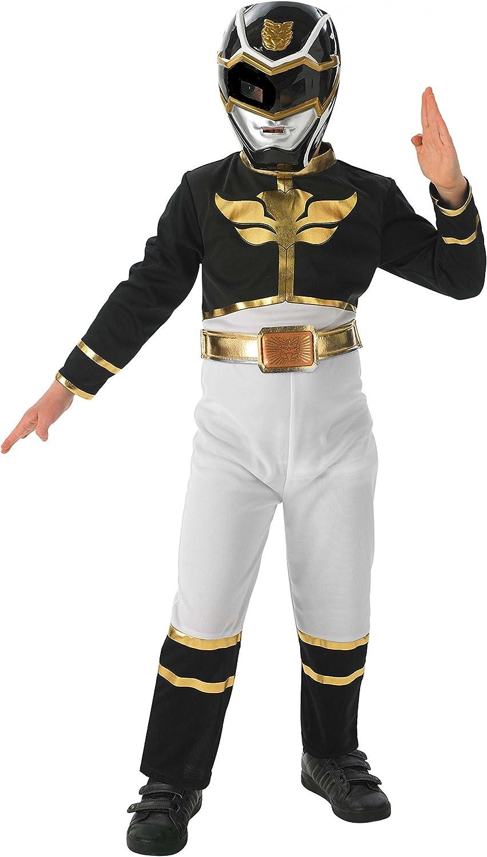 Negro Power Ranger - Power Rangers Megaforce - Niños Disfraz ...
