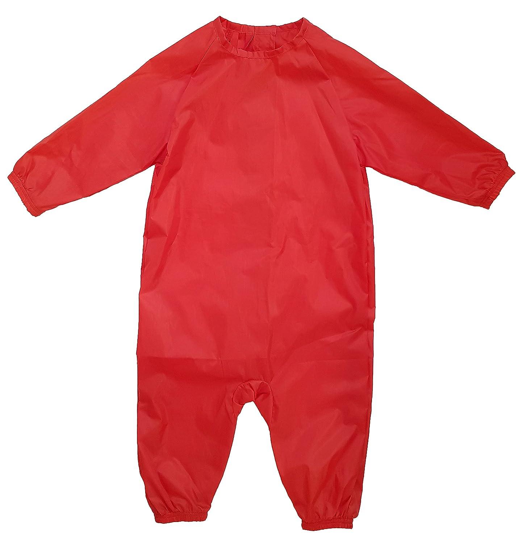 MIND CARE ESSENTIALS GR/ÜN zum Start der Beikost f/ür M/ädchen Jungen Kleinkind Ganzk/örper-L/ätzchen Baby-L/ätzchen mit Armen und Beinen Kinderl/ätzchen /Ärmel-l/ätzchen Malsch/ürze Geschenk zur Geburt