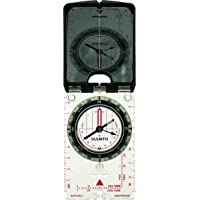 SUUNTO spiegelkompas MC-2NH, transparante bodemplaat, spiegel met zoom, peilgat, schemermarkeringen, draagkoord