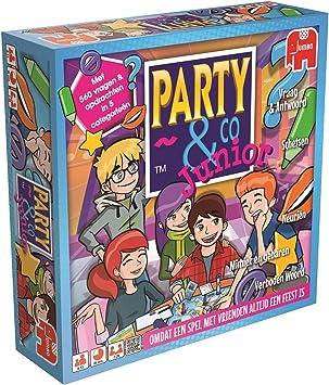Party & Co. Junior Adultos Juegos de Preguntas - Juego de Tablero (Juegos de Preguntas, Adultos, 40 min, Niño/niña, 8 año(s), Holandés): Amazon.es: Juguetes y juegos