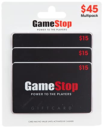 Amazon.com: GameStop - Tarjetas de regalo (3 unidades ...