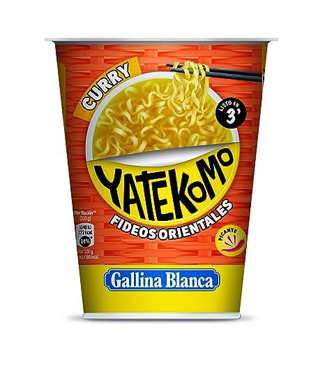 Gallina Blanca Yatekomo Curry Fideos Orientales - 61 g