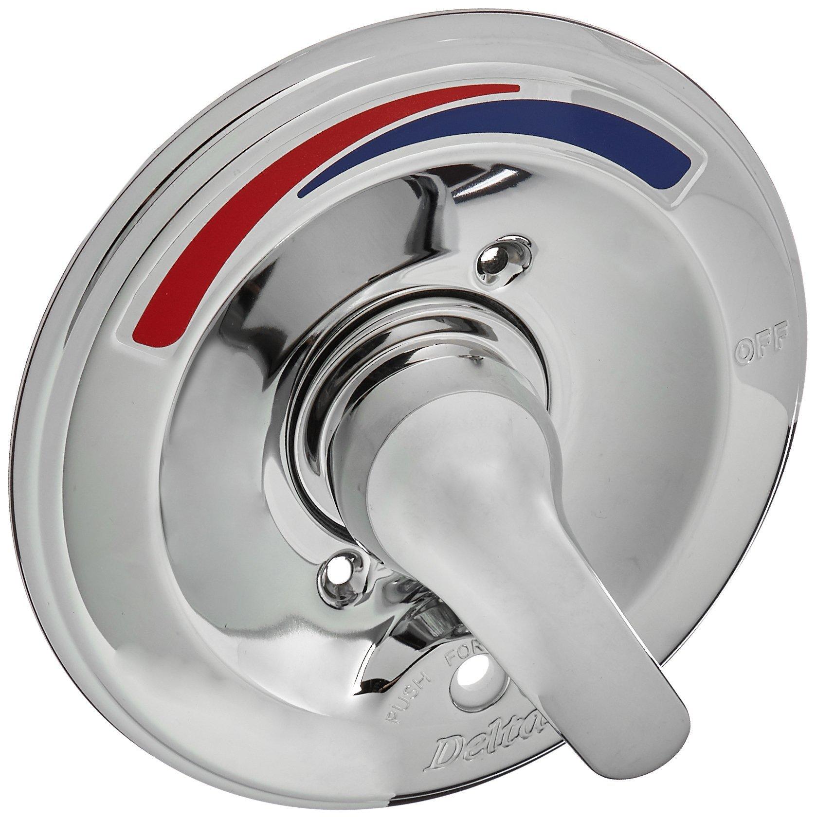 Delta Faucet T13391 Classic 13 Series Valve Trim Only - Push Button Diverter, Chrome by DELTA FAUCET