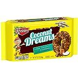 KeeblerFudge Stripes Cookies, Coconut Dreams, Flavors of Fudge, Caramel and Coconut, 8.5 oz Tray
