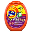 Tide PODS Liquid Laundry Detergent Pacs, Spring Meadow, 96 Count