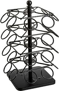 AmazonBasics Coffee Storage Carousel Rack Holder for K-Cup Pods, 32 Pod Capacity