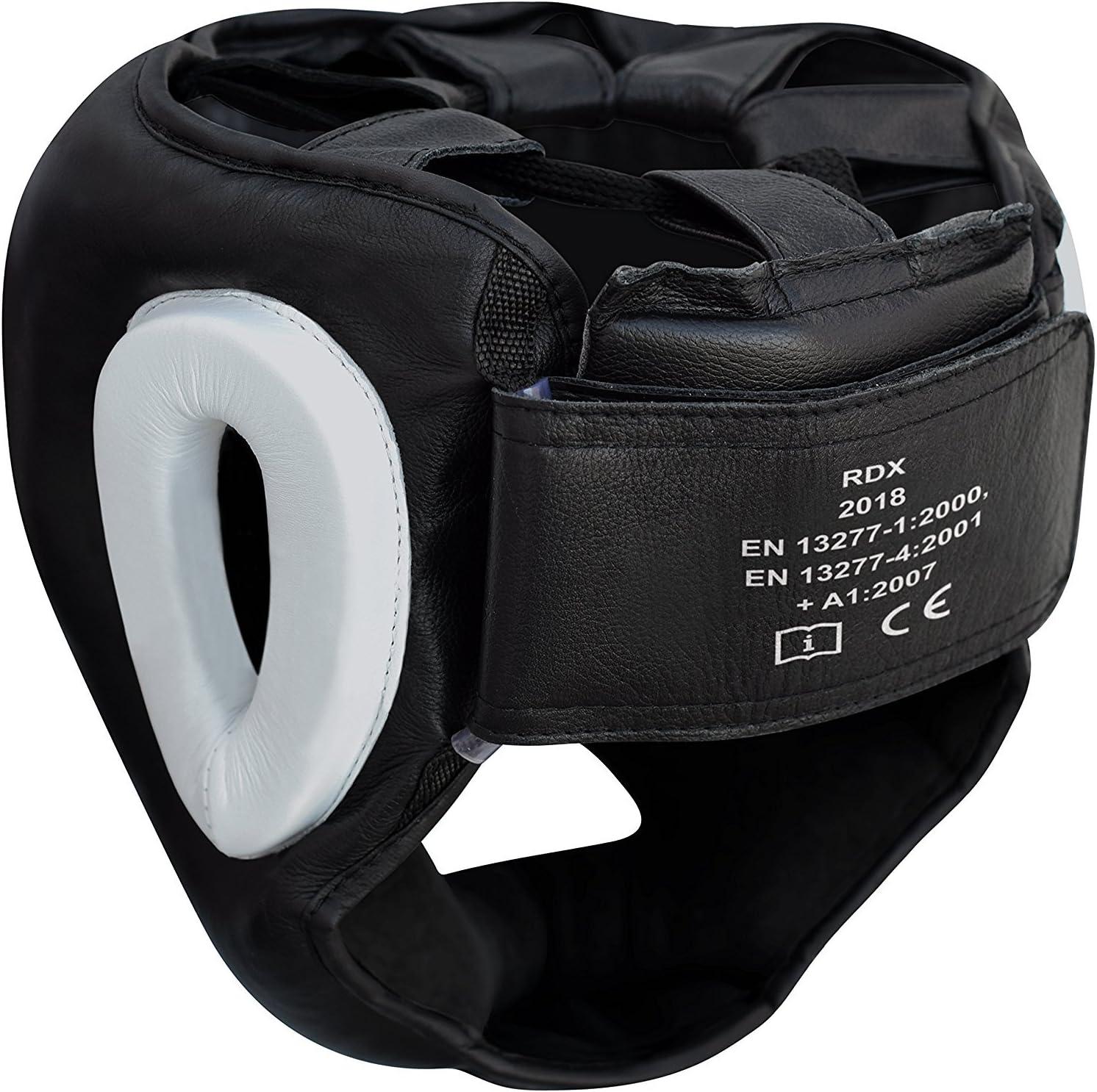 proteccion de cabeza y rostro marca RDX